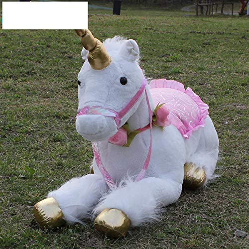 Amazon.com: Greenbookmr Jumbo White Giant Unicorn Stuffed Animal Horse Toy Soft Unicornio Peluche Doll Gift Children Photo Props: Toys & Games