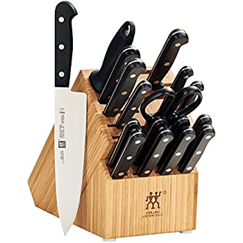 Amazon Com Zwilling Twin Gourmet 18 Pc Block Set Plus