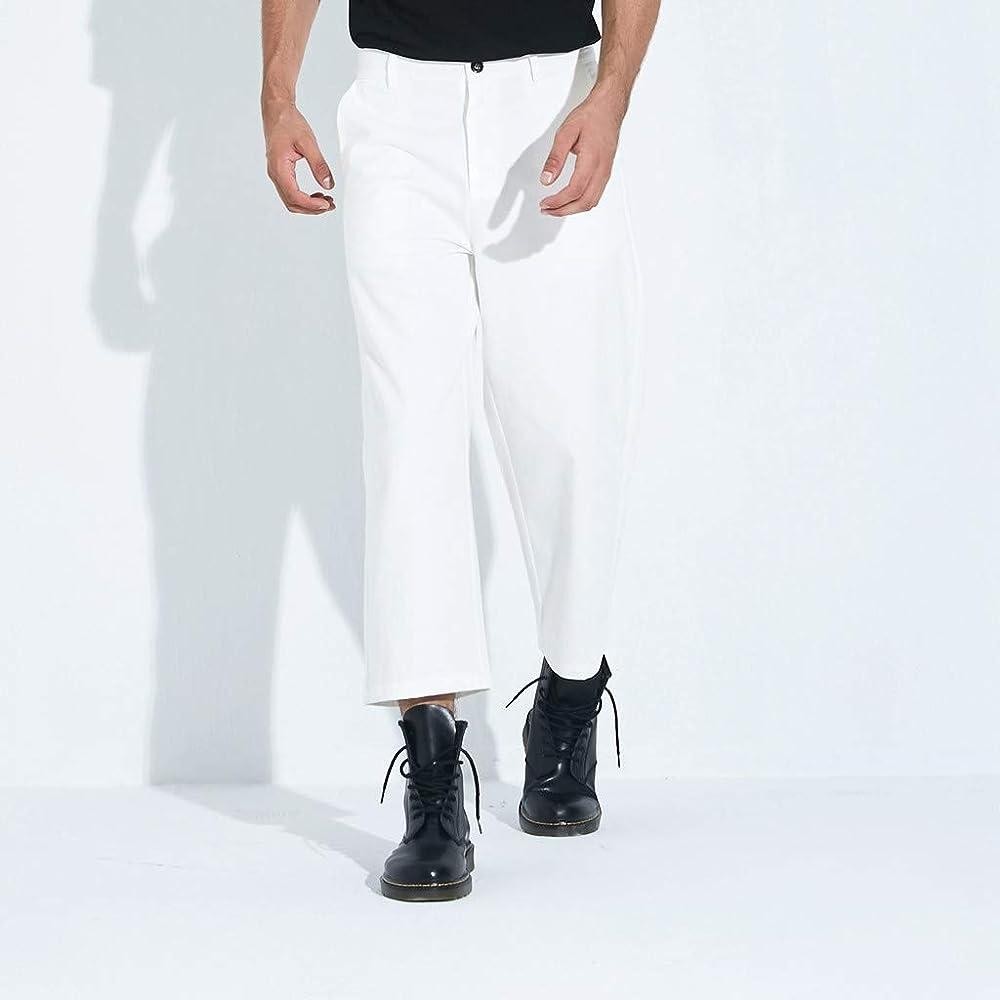 Pantalones Anchos De Moda para Hombre, Moda Casual Pantalones ...