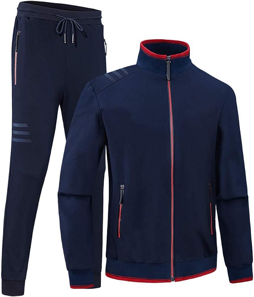 SUSIELADY Herren Jogginganzug Trainingsanzug Fitness Joggingsanzug