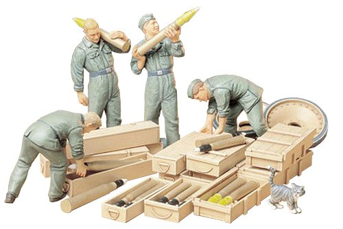 German Accessories Tank - Tamiya Models German Tank Loading Crew Set