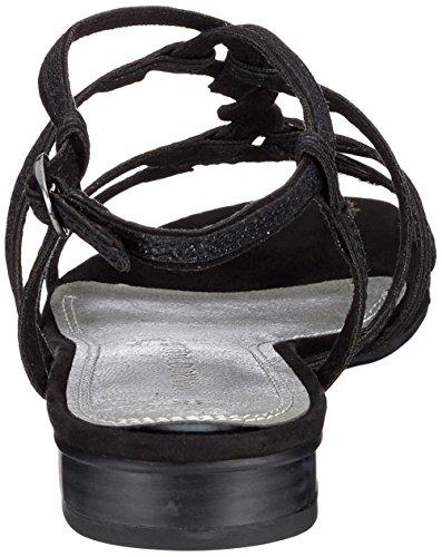 para con Pulsera 28103 Sandalia Mujer Comb Black Tozzi Marco Negro 4wX6Axtpnq