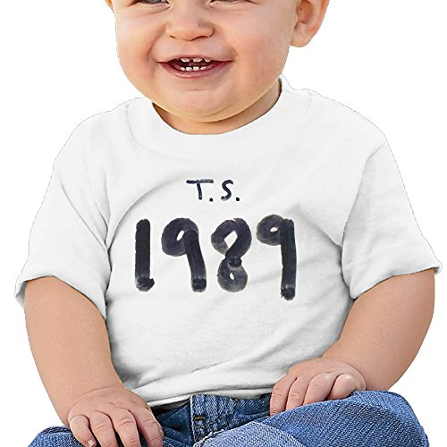 Price comparison product image Boss-Seller T.S 1989 Short Sleeve Shirt For 6-24 Months Boys & Girls Size 12 Months White