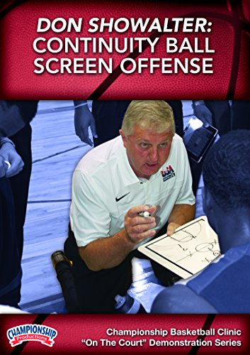 Championship Productions Don Showalter: Continuity Ball Screen Offense DVD (Best Continuity Basketball Offense)