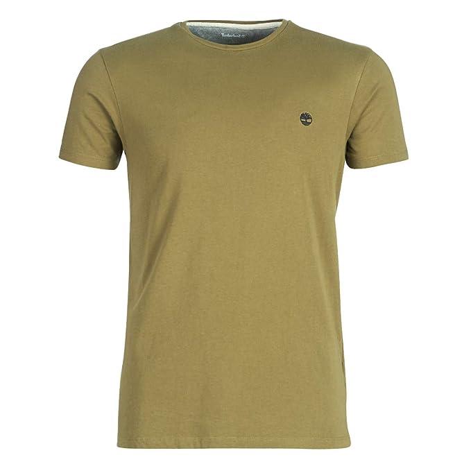 451f3b0953312c Timberland SS Dunstan RV Crew Slim Tee T-Shirt Uomo: Amazon.it:  Abbigliamento
