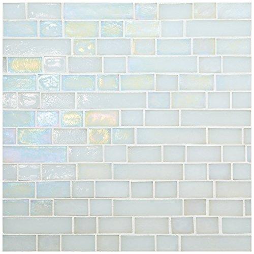 Daltile Glass - Dal-Tile 34RANDPM1P-GH01 Glass Horizons Tile, Waves