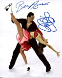 TANITH BELBIN & BENJAMIN AGOSTO dual signed *OLYMPIC FIGURE SKATING* 8x10 Photo W/COA #2
