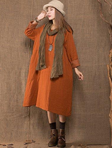 MatchLife - Vestido - para mujer naranja