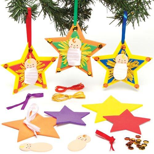 Decoracion navidad infantil excellent tarjetas de navidad - Decorar estrella navidad ...