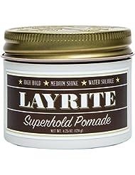 Layrite Superhold Pomade, 4.25 oz.