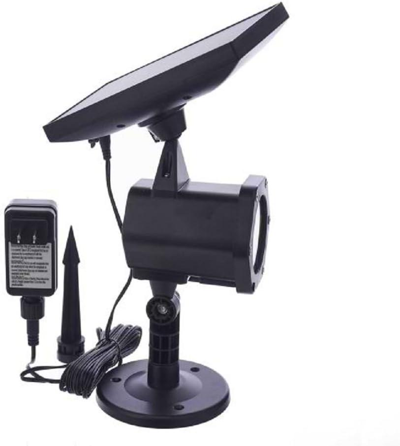 Kurt Adler Battery Operated Dynamic Solar Lawn Lamp