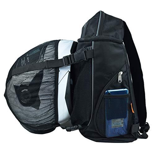 CHCYCLE Motorcycle Helmet Backpack Bag Waterproof Outdoor Sports Backpack with Helmetcatch Bag 24L