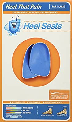 HTP Heel Cup Inserts (Blue, Large)