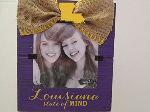 Mud Pie Game Day State Frame, Louisiana State of Mind LSU