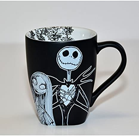 Amazon Com Disneyland Paris Mr Jack Skellington And Sally Black And White Mug Home Kitchen Watch online the nightmare before christmas (1993) in full hd quality. disneyland paris mr jack skellington and sally black and white mug