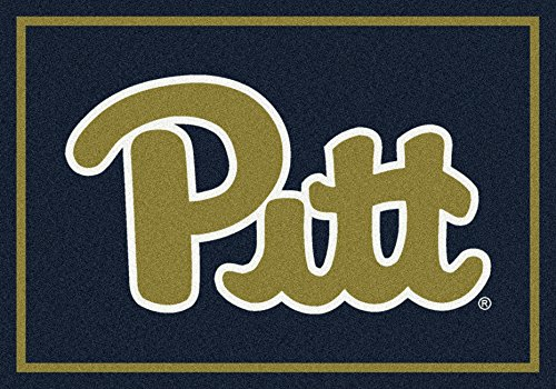 Pittsburgh Panthers NCAA College Team Spirit Team Area Rug (Panthers Spirit Rug)