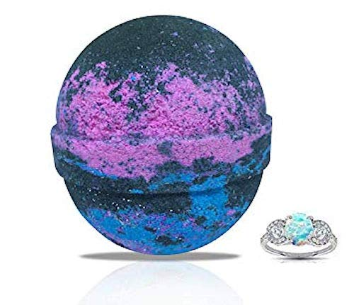 COSMO GLAM Ring Bath Bomb by Soapie Shoppe, Ring Sizes Very (size 5 - 9)