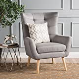 Christopher Knight Home 300789 Tamsin Arm Chair, Grey