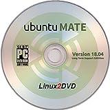 "Software : ubuntuMATE 18.04 LTS ""Bionic Beaver"", 64 Bit, Feature Rich and Elegant MATE Desktop Environment"