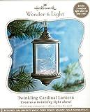 Twinkling Cardinal Lantern 2010 Hallmark Ornament