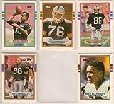 Los Angeles Raiders 1989 Topps Traded Football Team Set (Oakland)