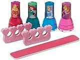 Disney Princess Non-Toxic 7 Piece Nail Polish with Nail Files