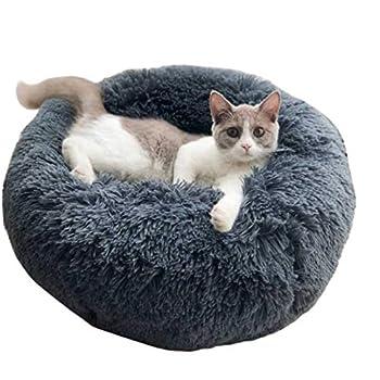 Amazon.com : ALLNEO Original Cat and Dog Bed Luxury Shag