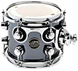 DW Performance Series Mounted Tom - 7'' x 8'' Chrome Shadow FinishPly