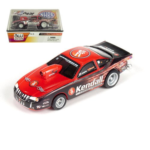 - Vieri Gaines Kendall Nhra 1:64 Slot Car Pro Stock By Round 2 / Auto World