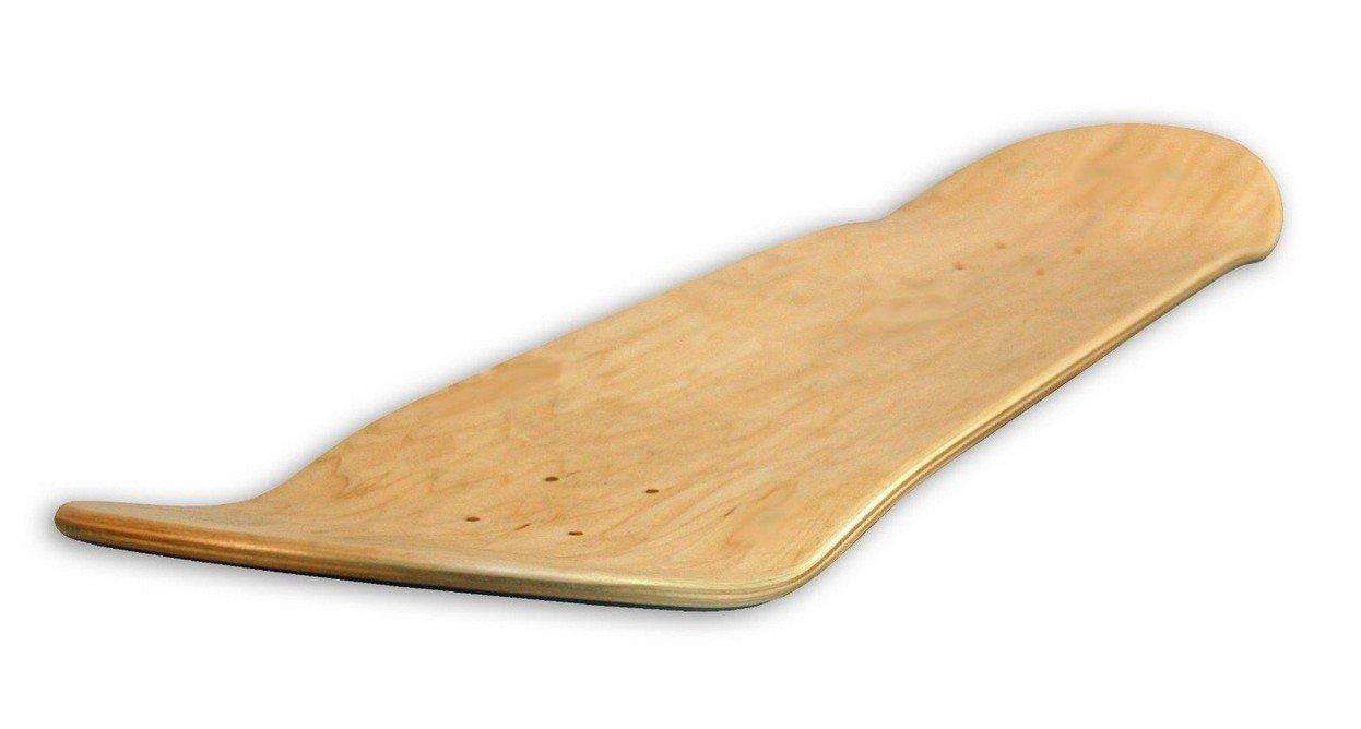 Guluman FORESTONE Blank/Natural Skateboard Decks - 8.0 inches-Medium Concave