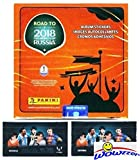 2018 Panini Road to FIFA World Cup Russia MASSIVE 50 Pack Factory Sealed Sticker Box with 350 Stickers Plus BONUS (2) LIONEL MESSI Card Packs! Look for Top Stars Ronaldo, Messi,Neymar & More! WOWZZER!