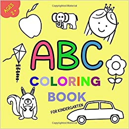 Abc Coloring Book-Draw & paint by chetna narula