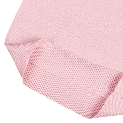 Donna Maniche Monocromo Primaverile Lunghe Neck Ragazze Moda Casual V Eleganti Tops Women Bluse Giovane Shirts Maglioni Autunno Rosa Top wxrIA8w