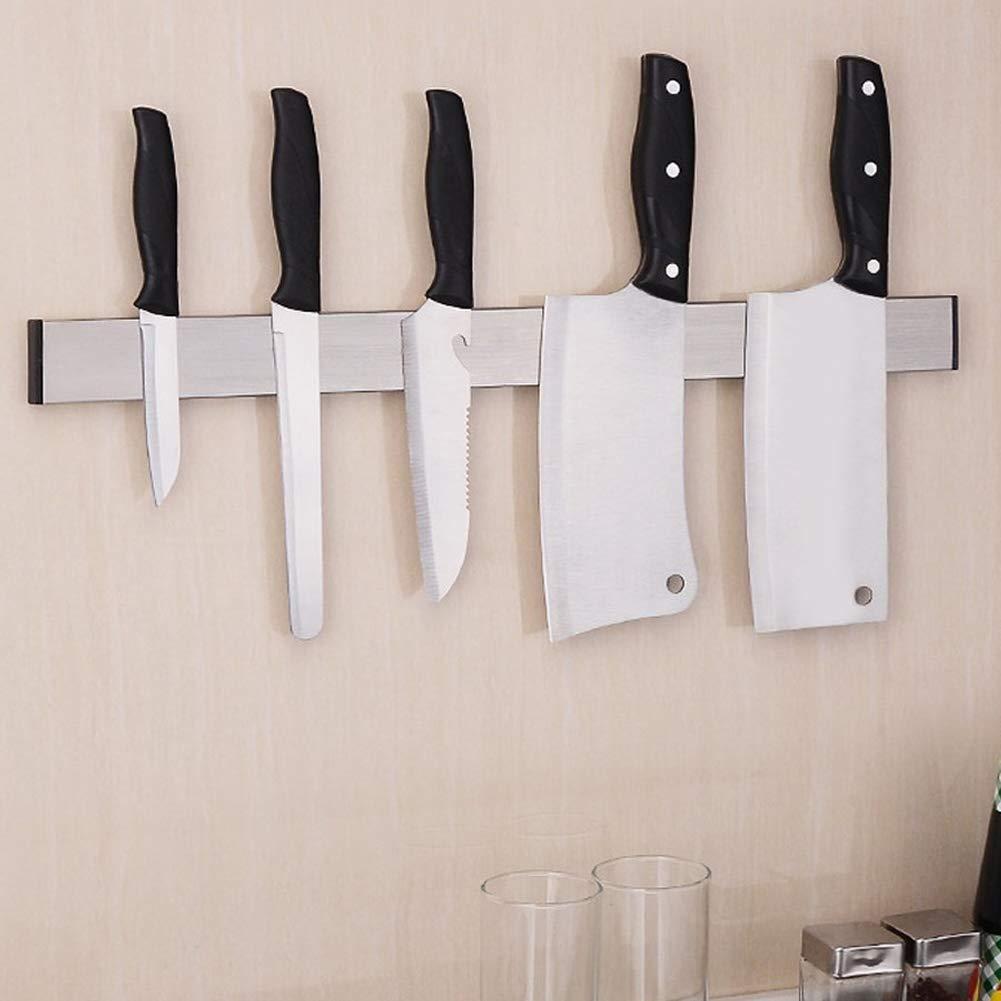 Bakaji Home Barra Magnetica Portacoltelli Cucina Supporto Calamita Magnetico Porta Coltelli Utensili Lavoro 31 cm