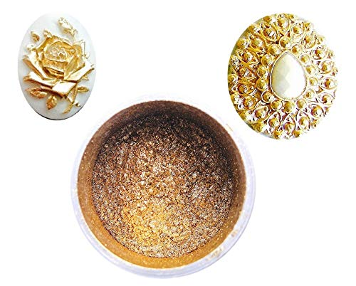 (Gold Highlighter Dust, 6 gram container)