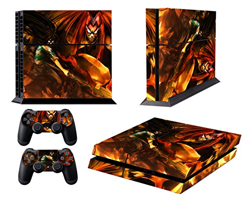 EBTY-Dreams Inc. - Sony Playstation 4 (PS4) - Ushio to Tora Anime Vinyl Skin Sticker Decal Protector
