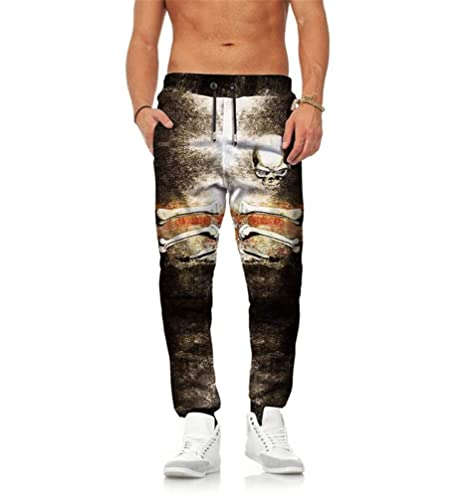 Pantalones Casual Gym Fitness Chándal Bottoms Slim Fit: Amazon.es ...