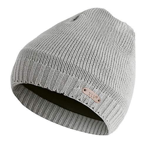 Atezch Pure Color Knit Cap for Men Women Unisex Winter Wool Beanie Skull Hat (Climbing Wool Beanie)