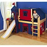 Maxtrix Kids Amazing / Fantastic Full Low Loft Castle Bed
