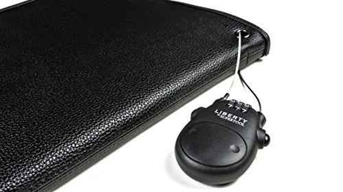 Liberty Safe Retractable Cable Lock, (Travel, Desk, Vehicle, Handgun Case, and More) by Liberty Safe