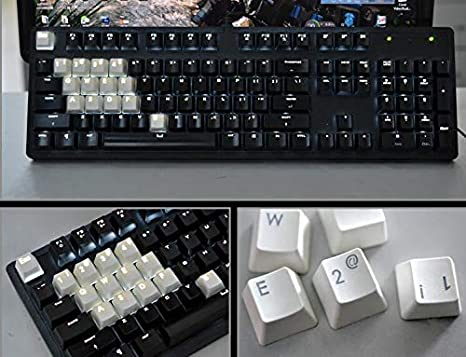 Feicuan Keycaps LOL 14 Key Caps Cover Set Backlit PBT Double Color Injection Molding OEM Profile Keys for Gaming Mechanical Keyboard