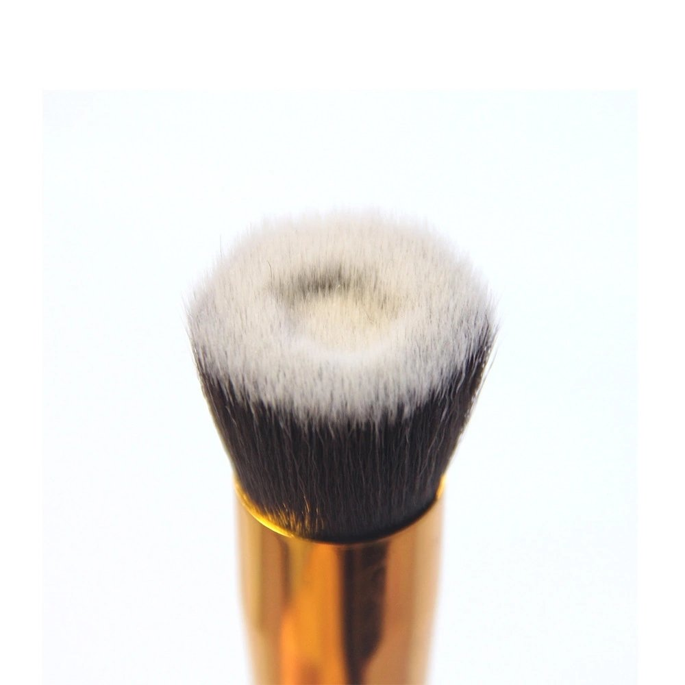 Concave Head Nylon Brush Cosmetic Liquid Foundation Brush Makeup Tool MagiDeal