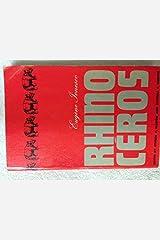 Rhinocéros Paperback