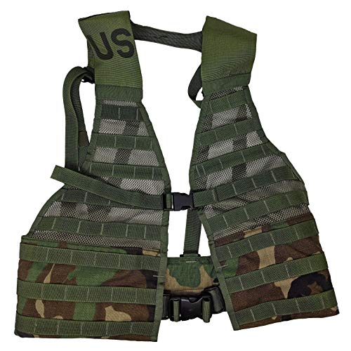 Specialty Defense Systems Official US Military Molle II Army FLC Fighting Tactical Assault Vest Carrier (Woodland)