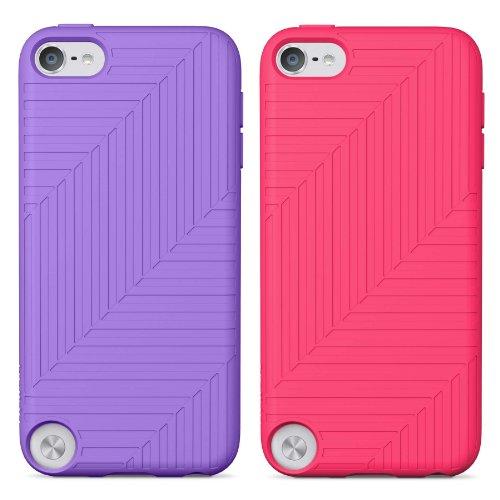 Belkin Flex Case for Apple iPod Touch 5th Generation, 2-Pack (Purple / Pink) ()