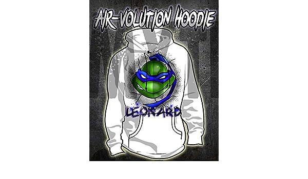 Amazon.com: Personalized Airbrush Ninja Turtle Hoodie: Handmade