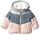 Osh Kosh Girls' Perfect Colorblocked Heavyweight Jacket Coat