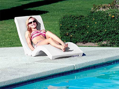 SwimWays Terra Sol Sonoma Chaise Lounge - White by SwimWays (Image #2)