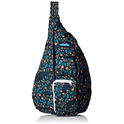KAVU Women's Rope Bag Outdoor Backpacks, One Size, Wild Poppy