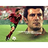 Luis figo Poster by Silk Printing # Size about (80cm x 60cm, 32inch x 24inch) # Unique Gift # 10A382